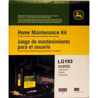 John Deere Genuine LG193 Home Maintenance Kit for SABRE: 1438GS/HS 1538HS 1542GGS/HS: Industrial & Scientific