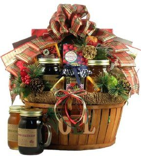A Bountiful Holiday Harvest, Holiday Gift Basket (Large) : Gourmet Candy Gifts : Grocery & Gourmet Food