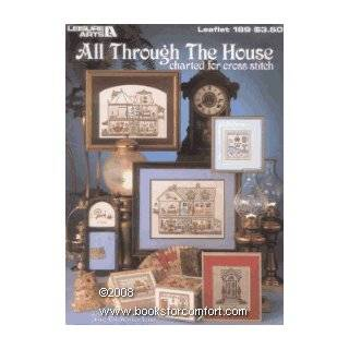 All through the house: Charted for cross stitch (Leisure Arts leaflet 189): Anne Van Wagner Young: Books