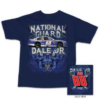 Dale Earnhardt Jr NASCAR National Guard Saber Tee (large): Clothing