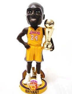LOS ANGELES LAKERS KOBE BRYANT NBA OFFICIAL 2010 CHAMPIONSHIP (MVP) TROPHY BOBBLEHEAD BOBBLE: Everything Else