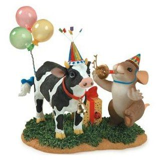"Charming Tails Figurine ""Party Til The Cows Come Home"" #89/198   Collectible Figurines"