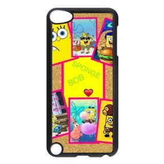 Personalized Music Case SpongeBob SquarePants iPod Touch 5th Case Durable Plastic Hard Case for Ipod Touch 5th Generation IT5SS29 : MP3 Players & Accessories