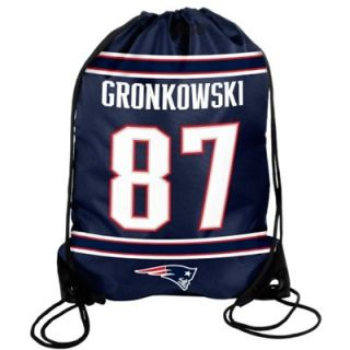 Rob Gronkowski #87 New England Patriots 2013 Player Drawstring Backpack