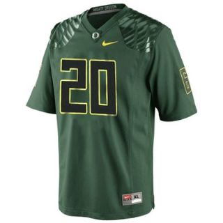 Nike Oregon Ducks #20 Youth Replica Football Jersey   Green
