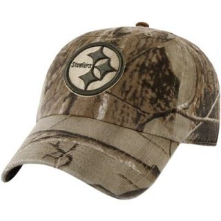 47 Brand Pittsburgh Steelers Franchise Fitted Hat   Realtree Camo