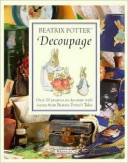 Beatrix Potter Decoupage Book (Peter Rabbit): Beatrix Potter: 9780723244455: Books