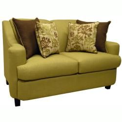 Lansing Lime Green Fabric Sofa and Loveseat Sofas & Loveseats