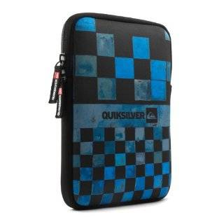 Quiksilver iPad mini / iPad mini 2 Case Neoprene Cover Pouch   Blue Checks Design with Soft Feel Lining   Also Compatible with Google Nexus 7 and other tablets measuring up to 205 x 140 x 14 mm: Computers & Accessories
