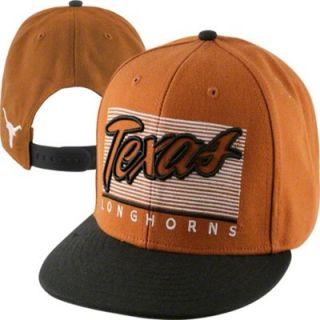 47 Brand Texas Longhorns Kelvin Adjustable Snapback Flat Brim Hat