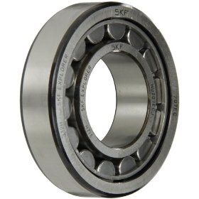 SKF Cylindrical Roller Bearing, Removable Inner Ring, Straight, High Capacity, Steel Cage, Metric Industrial & Scientific