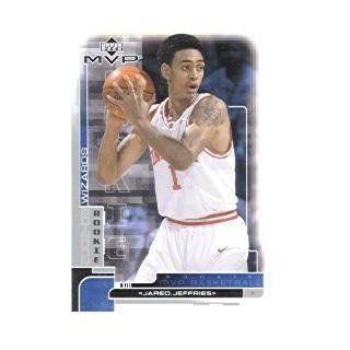 2002 03 Upper Deck MVP #207 Jared Jeffries RC: Sports Collectibles
