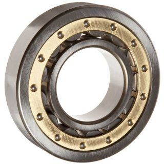 Koyo NU210 C3FY Cylindrical Roller Bearing, Removable Inner Ring, Single Row, Open, C3 Clearance, Brass/Bronze Cage, Metric, 50mm ID, 90mm OD, 20mm Width, 35000rpm Maximum Rotational Speed Industrial & Scientific