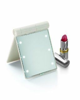 Perfect Solutions Hollywood Makeup Mirror with Dressing Room Style Lights (Catalog Category: General Merchandise / Grooming Accessories)   Entertainment Armoires