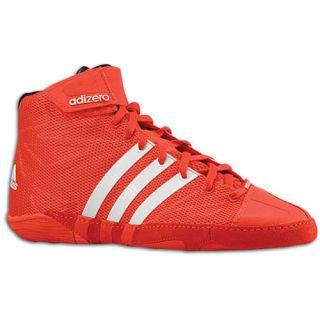 adidas adiZero Wrestling   Mens   Wrestling   Shoes   Core Energy/White/Black