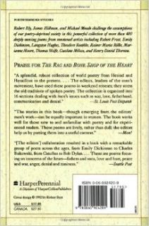 The Rag and Bone Shop of the Heart: A Poetry Anthology: Robert Bly, James Hillman, Michael Meade: 9780060924201: Books