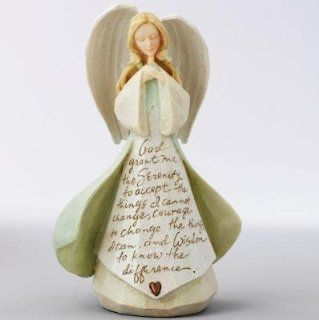 Serenity Foundations Angel From Enesco By Karen Hahn   Collectible Figurines