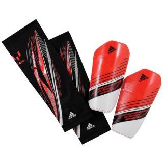 adidas F50 Pro Light Messi Guard   Soccer   Sport Equipment   Pop/White/Black