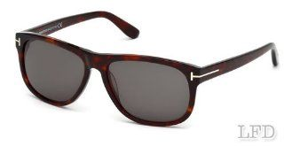 Tom Ford OLIVIER FT0236 Sunglasses TF236 Color 54A Havana / Grey Smoke TF 236: Health & Personal Care