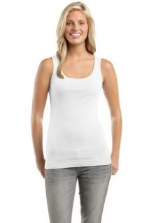 District Threads DT235   Juniors Perfect Fit 1x1 Tank: Clothing