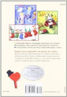 Decorar Pinzas de Madera: para Reglar en Bautizos, dia del Padre, Cumpleanos, Halloween, Navidad: 9788498741100: Books