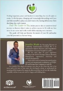Find the Leader in You: A Guide to Discovering Your Unlimited Potential: Jennifer E. Rhule: 9781481775816: Books