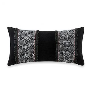 Buy Artology Kalam 9 Inch x 18 Inch Pillow in Black from