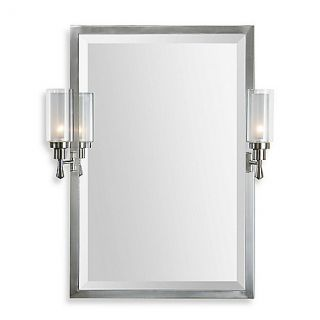 Buy Uttermost 22 Inch x 32 Inch Amadora Mirror with Sconces from