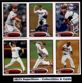 2012 Topps Arizona Diamondbacks Complete Team Set (Sealed)   (Series 1 & 2)   18 Cards including Kubel, Wade Miley RC, Upton, Young, Goldschmidt, Hudson, Collmenter, Kennedy,Ryan Roberts, Drew, Montero & more!: Sports Collectibles