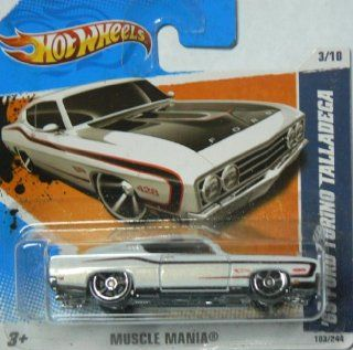 Hot Wheels Muscle Mania '69 Ford Torino Talladega 103/244 on Short Card: Everything Else