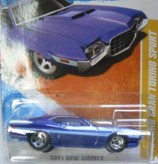 Hot Wheels 2011 New Models 2/50 '72 Ford Gran Torino #2/244 on Card Variation: Toys & Games