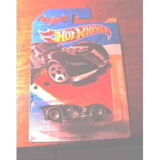 2011 HOT WHEELS NEW MODELS 24/50 ARKHAM ASYLUM BATMOBILE 24/244: Toys & Games