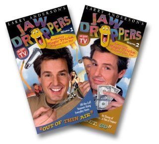 Larry Anderson's Jaw Droppers Volume I & Volume II [VHS]: Jaw Droppers: Movies & TV