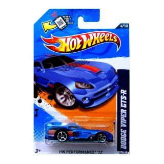 Hot Wheels 2012, Dodge Viper GTS R (BLUE), HW Performance '12, 146/247. 1:64 Scale.: Toys & Games