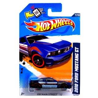 "Hot Wheels 2012 167/247 2010 FORD MUSTANG GT blue police car ""Kootenai County"": Toys & Games"