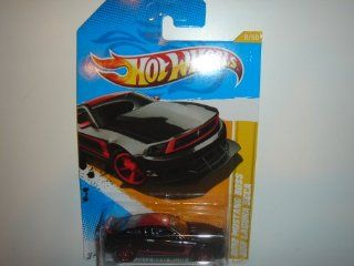 2012 Hot Wheels New Models 2012 Mustang Boss 302 Laguna Seca Black #8/247: Toys & Games