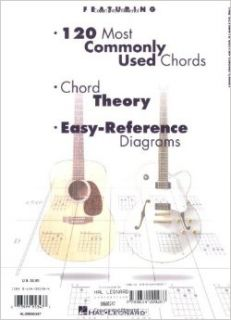 The Ultimate Guitar Chord Chart: Hal Leonard Corp.: 9780634000287: Books