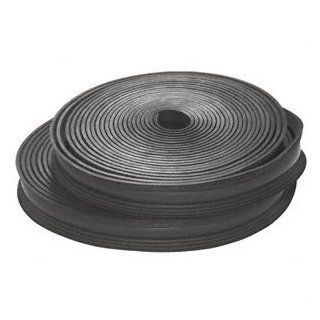 C.R. LAURENCE LR251PV CRL Black Flexible Rubber LR25 Series Cap Rail Insert for 21.52 mm Laminated Glass  100 ft (30.5 m)   Decking Railings