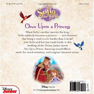 Sofia the First Read Along Storybook and CD Once Upon a Princess: Disney Book Group, Lisa Ann Marsoli, Disney Storybook Art Team: 9781423168461: Books