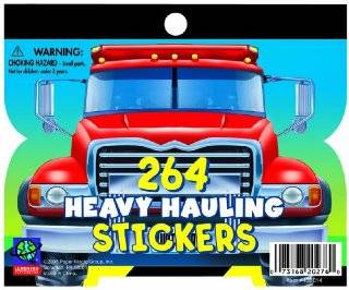 Eureka Learning Playground Heavy Hauling Fun Size Sticker Book Pack, 264 Stickers Per Book, 12 Books Toys & Games