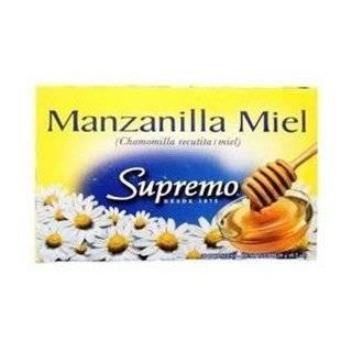 Supremo Te De Manzanilla Con Miel: Grocery & Gourmet Food