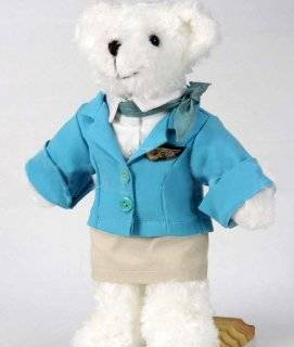 Handmade Air Hostess Korean Air Teddy Bears Gifts ##High 12 Inch (No Doll Stand): Toys & Games