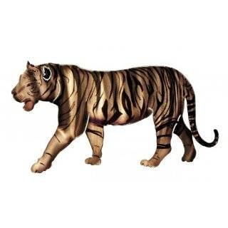 Next Innovations Small 3 Piece White Tiger Refraxions 3D Wall Art Set   Wall Sculptures
