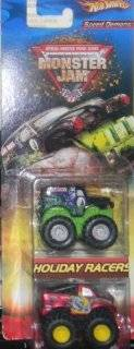 Hotwheels 2005 Monster Jams Speed Demons 2 Truck Pack GRAVE DIGGER AND DEVASTATOR: Toys & Games