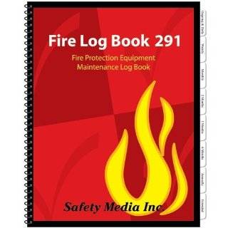 Fire Log Book 291, Fire Protection Equipment Maintenance Log Book (Canadian Edition): Safety Media Inc.: 9781894824019: Books