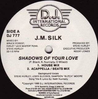 "SHADOWS OF YOUR LOVE (12"" SINGLE 4 MIXES): Music"