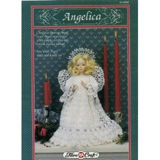 Angelica, Crochet a Treetop Angel of an Angel Centerpiece Craft Book (FCM305): Designed by Darlene Ralph: Books
