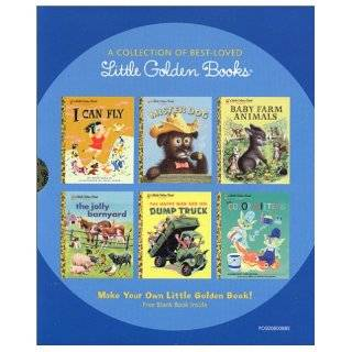 A Collection of Best Loved Little Golden Books I Can Fly, Mister Dog, Baby Farm Animals, The Jolly Barnyard, The Happy Man and His Dump Truck, and The Color Kittens Various Authors 9780375833946 Books