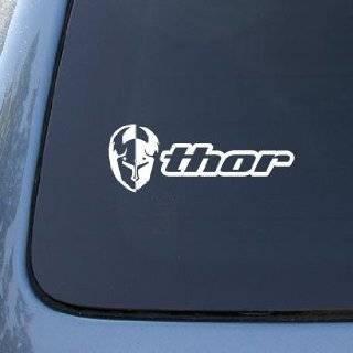 Thor Motocross Racing   Car, Truck, Notebook, Vinyl Decal Sticker #2754  Vinyl Color: White: Everything Else