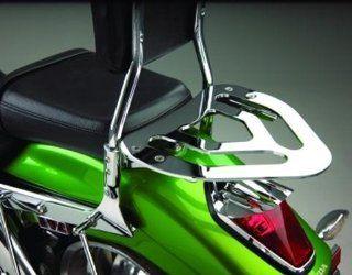 Show Chrome Sissy Bar Kit Optional Luggage Rack 55 322 Automotive